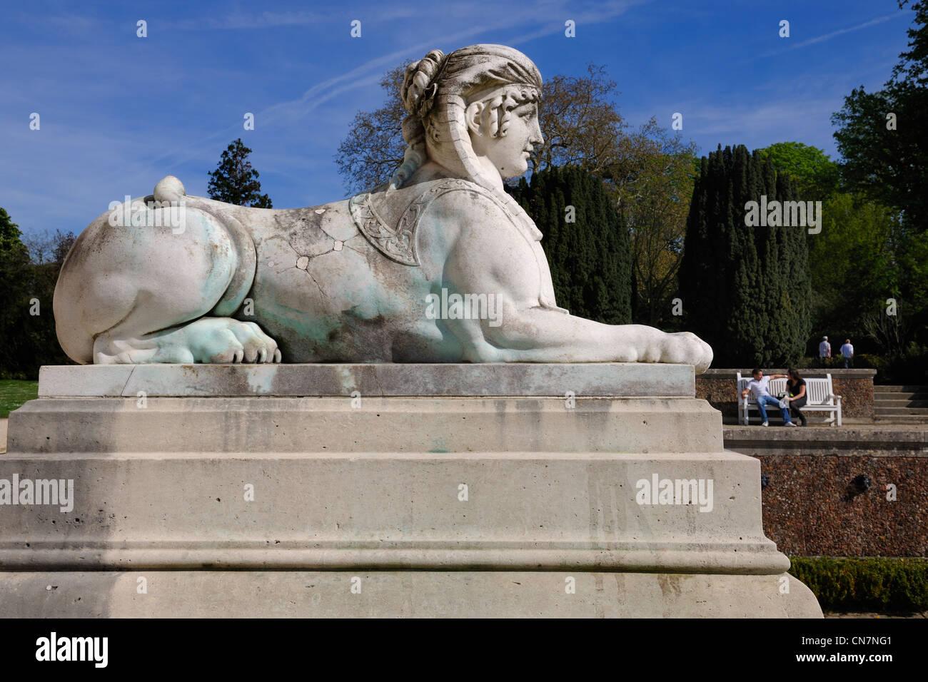 France, Paris, Bois de Boulogne, Parc de Bagatelle - Stock Image