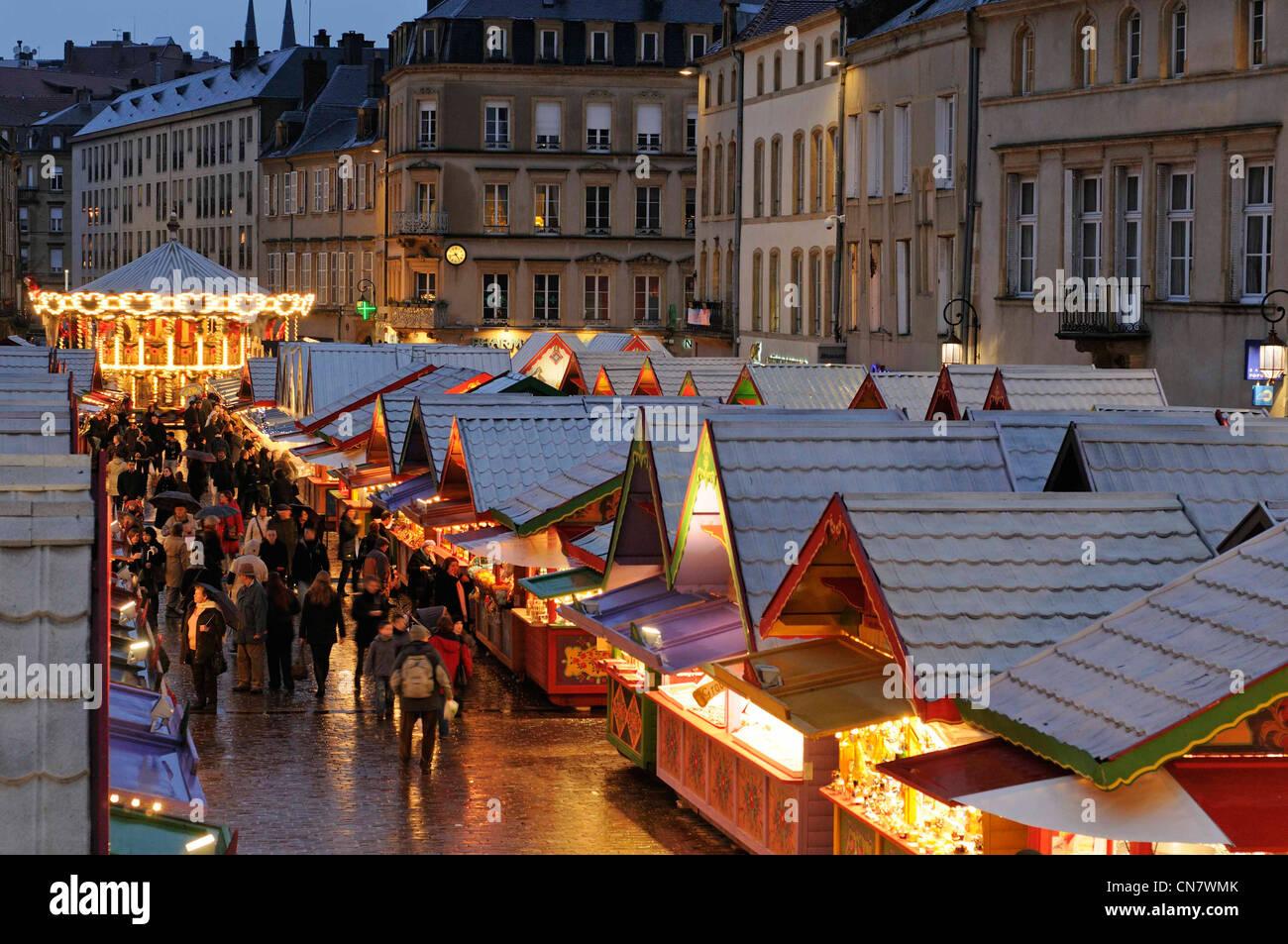 france moselle metz place saint louis christmas market december