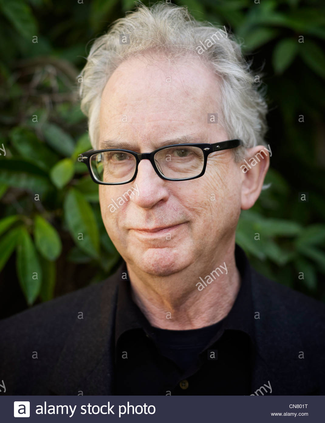 Peter Carey author and writer of Chemistry of Tears at The Oxford Literary Festival at Christchurch College Oxford - Stock Image