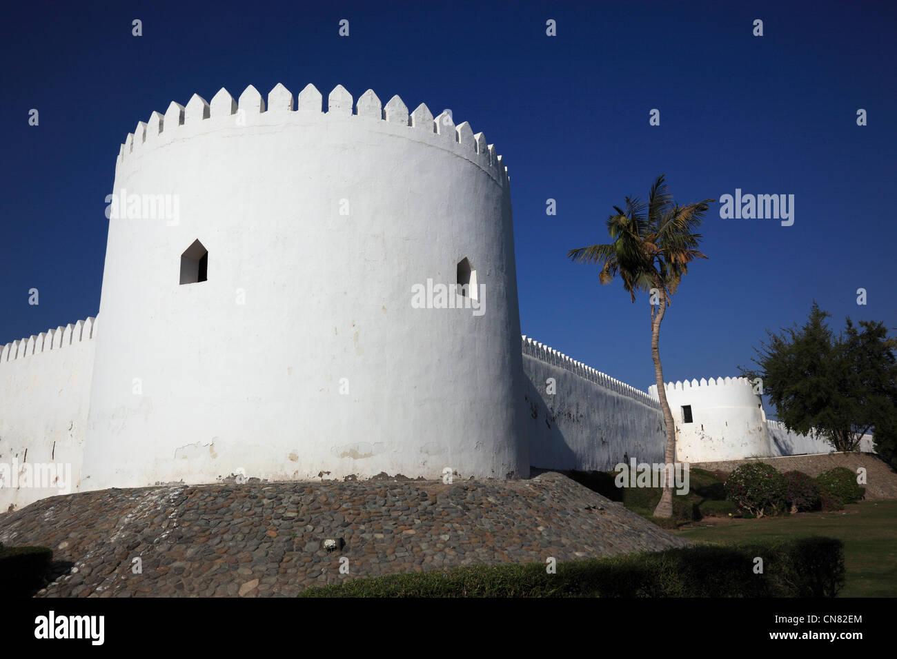 Fort von Sohar, Al Hujra, Oman Stock Photo
