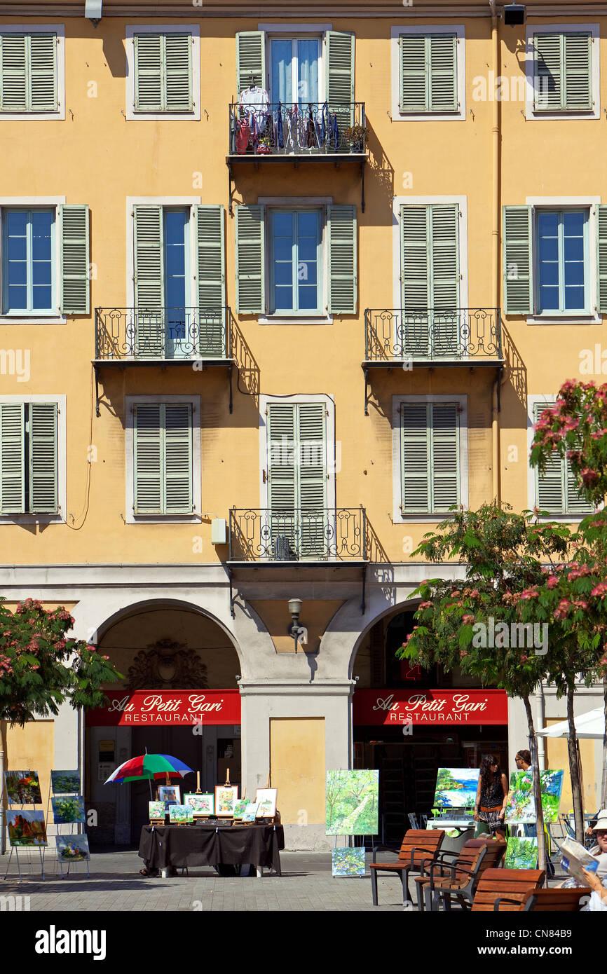 France, Alpes Maritimes, Nice, Place Garibaldi Stock Photo