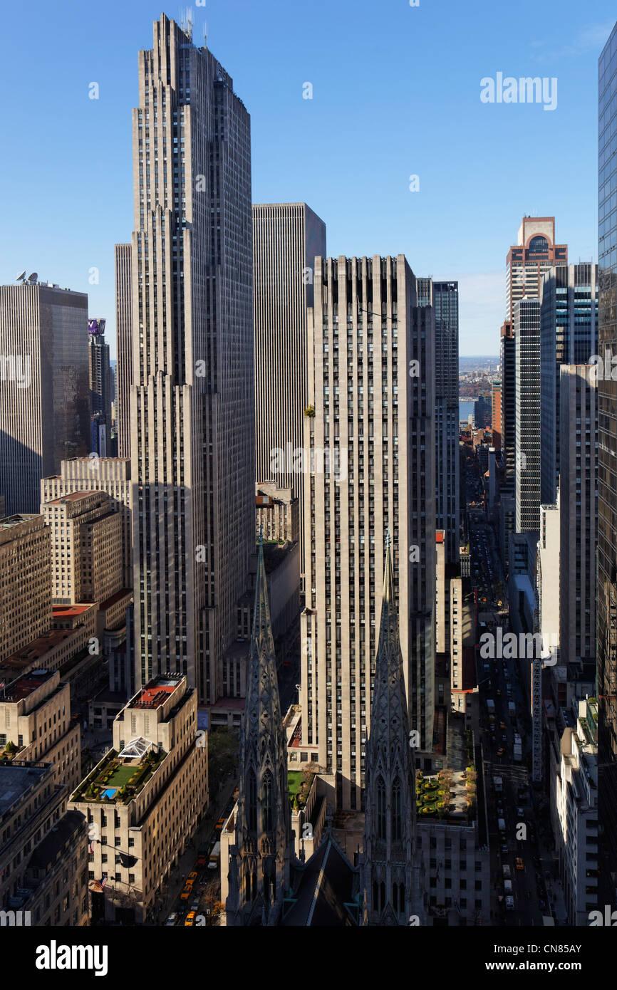 United States, New York City, Manhattan, Midtown