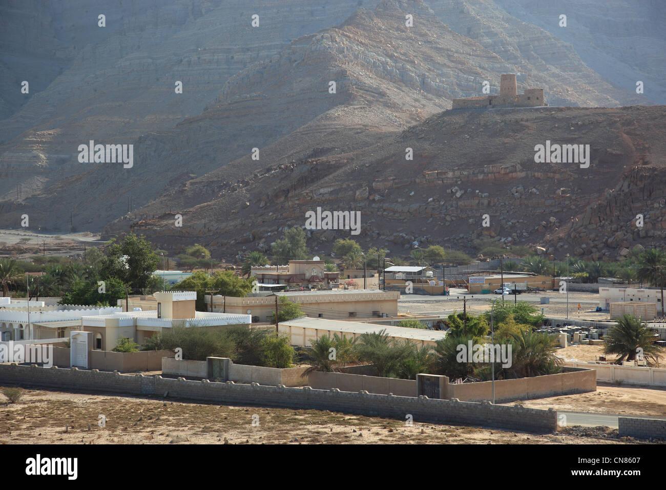 Bukha Fort, Bukha, Bucha, in der omanischen Enklave Musandam, Oman Stock Photo