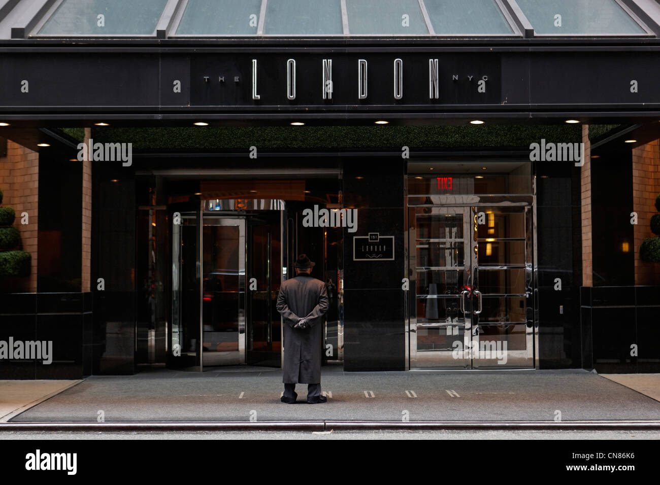 The London Hotel New York High Resolution Stock Photography And Images Alamy