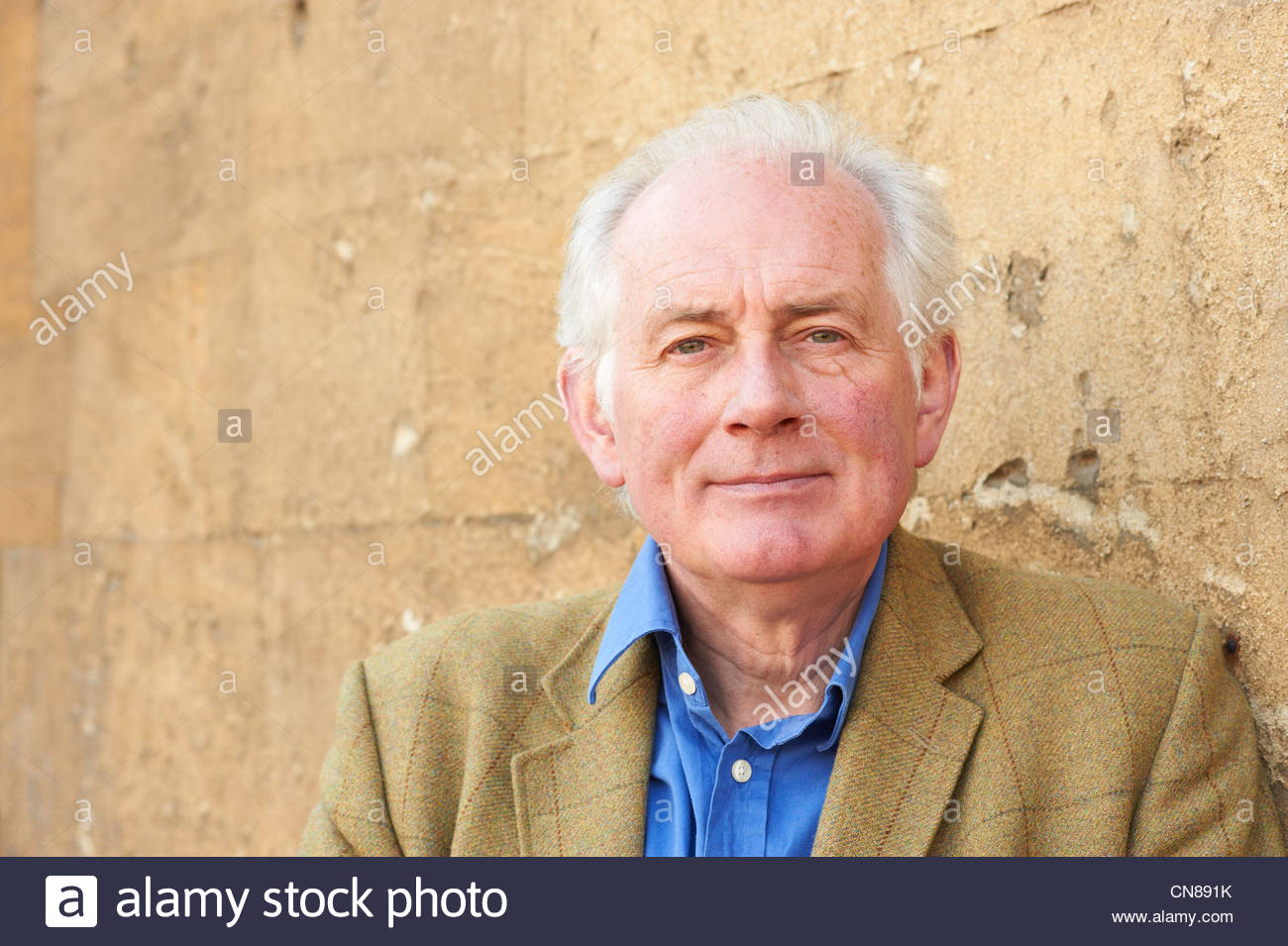 Dan Cruikshank writer at The Oxford Literary Festival at Christchurch College Oxford . Credit Geraint Lewis - Stock Image