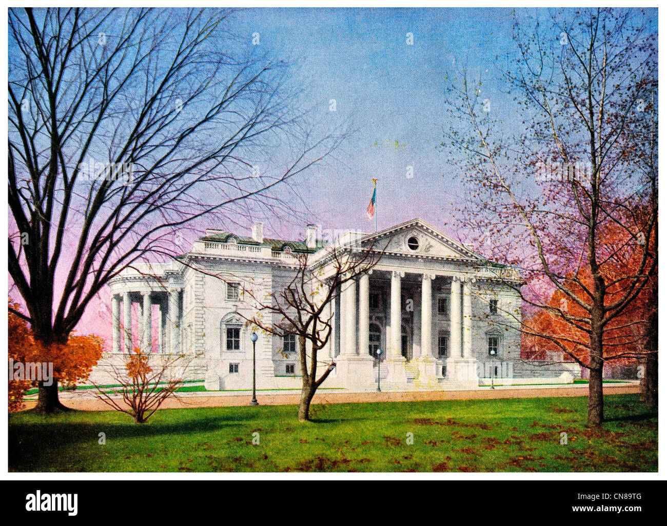 First published 1915 Continental Hall USA - Stock Image