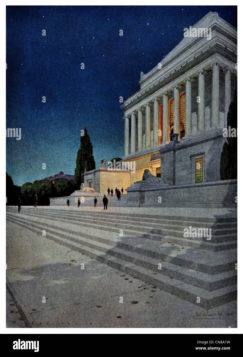 First published 1915 Washington House of the Temple Scottish Rite Masonic - Stock Image