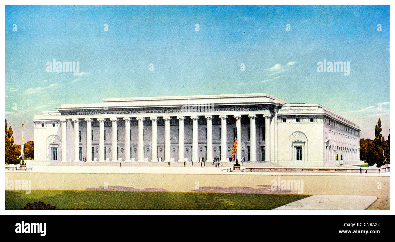 First published 1915 George Washington Memorial Hall - Stock Image
