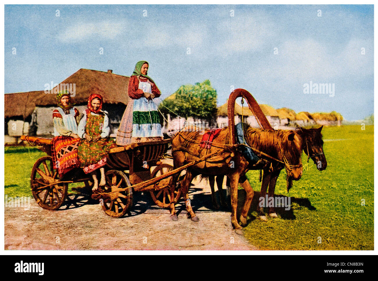 Vintage Horse Cart Farmer High Resolution Stock Photography And Images Alamy