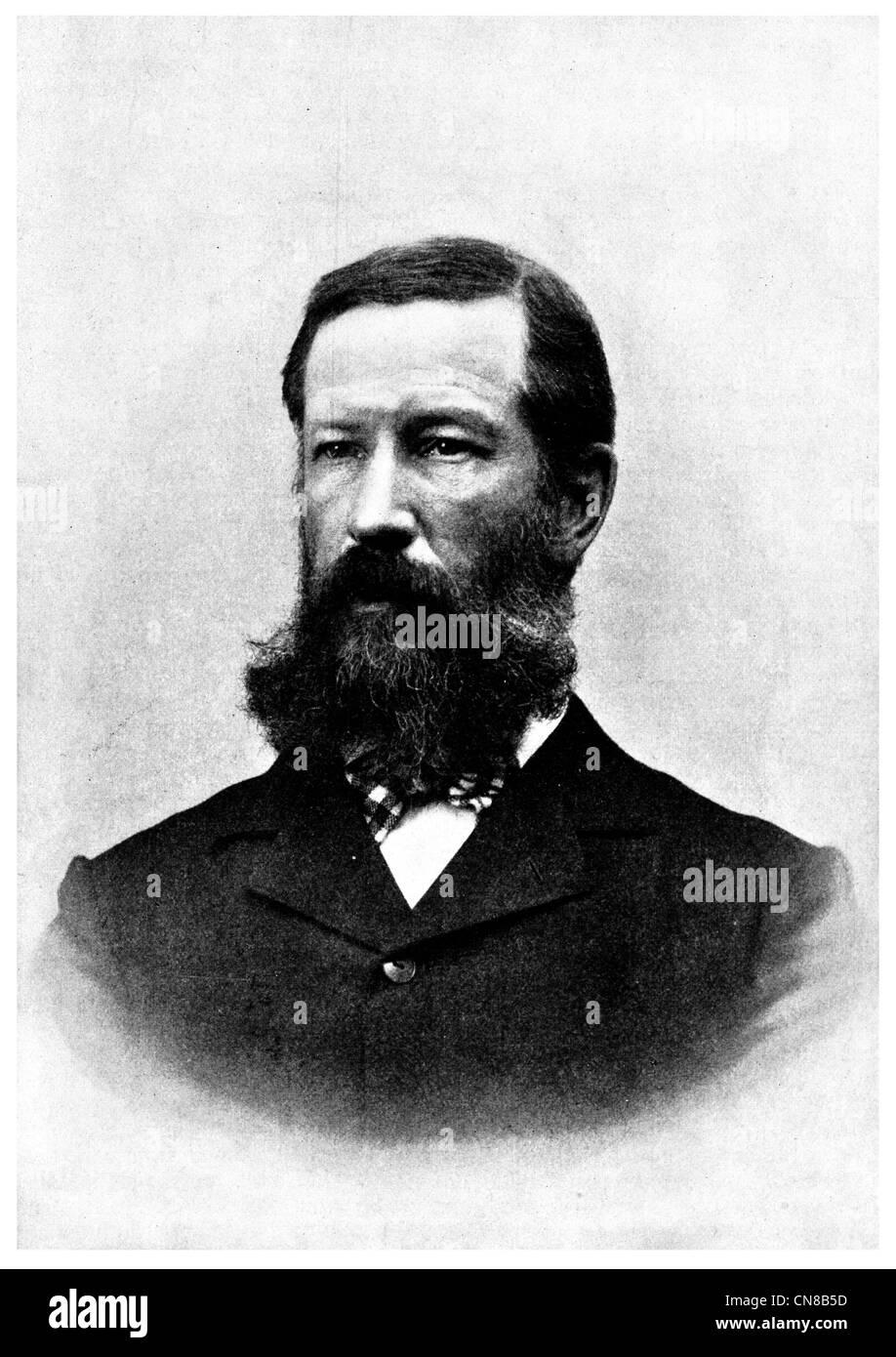 Henry Gannett President of the National Geographic Society 1910 1914 - Stock Image