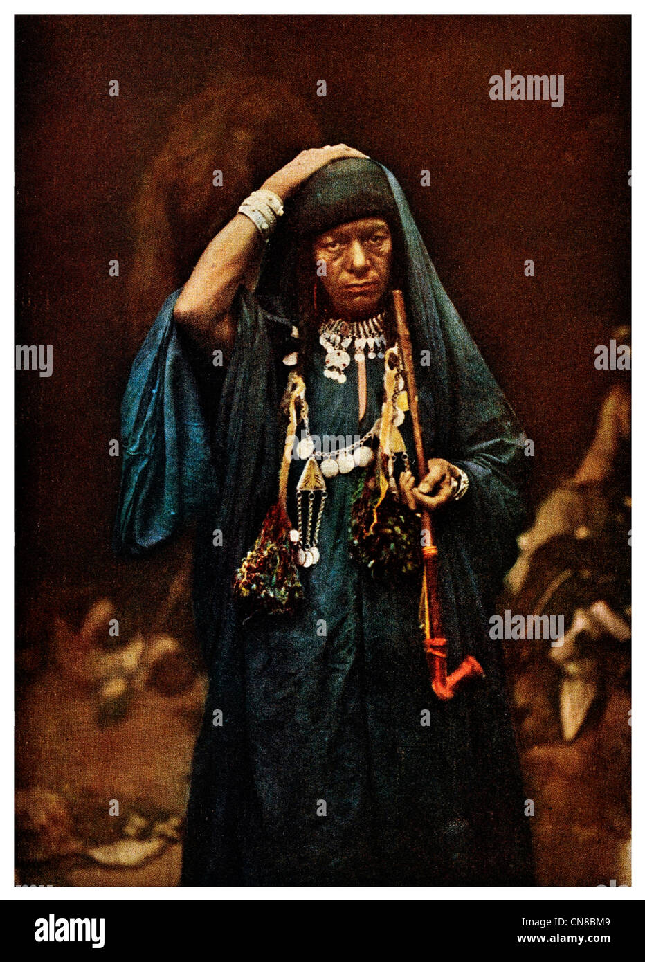 First published 1914 Jericho Medicine Woman - Stock Image