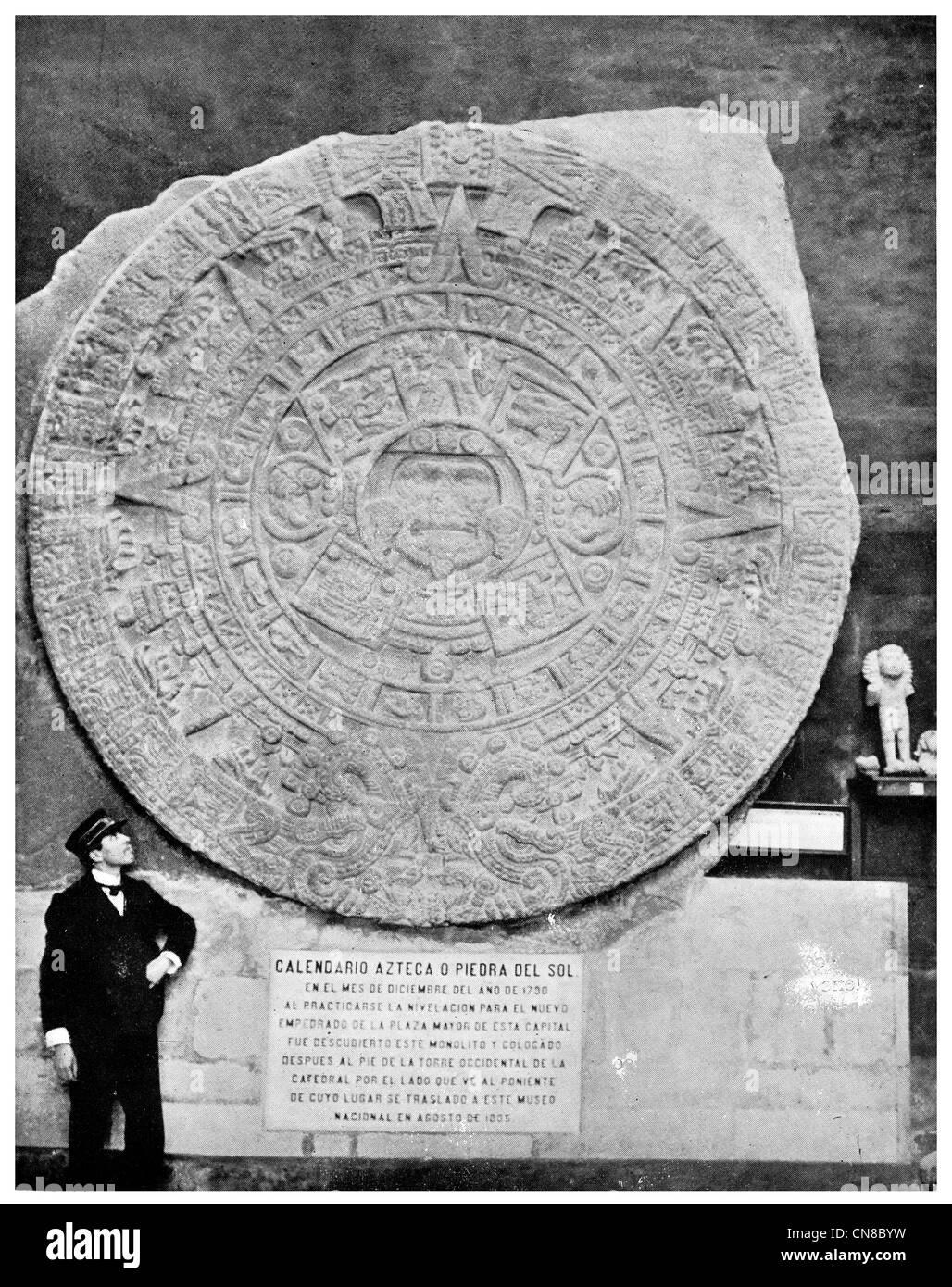 Aztec Calendar Stone Stock Photos Amp Aztec Calendar Stone