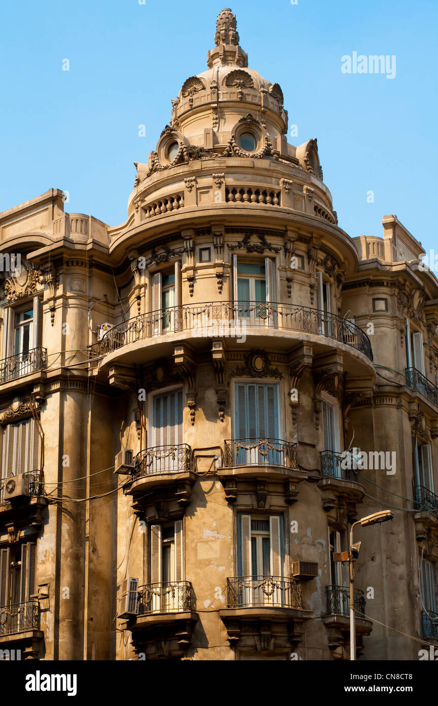 cairo egypt colonial architecture stock photos cairo egypt