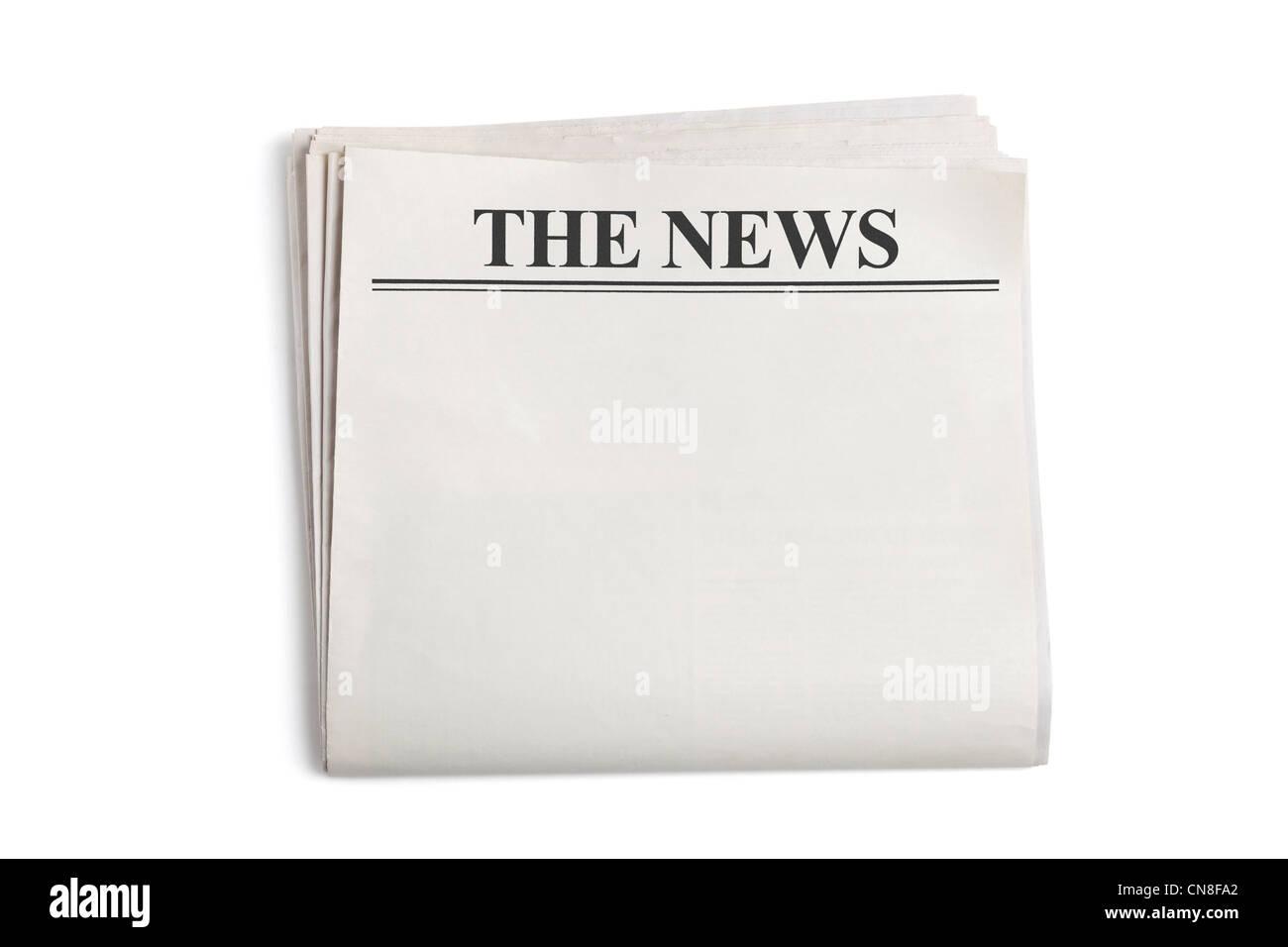 newspaper headline blank stock photos & newspaper headline blank