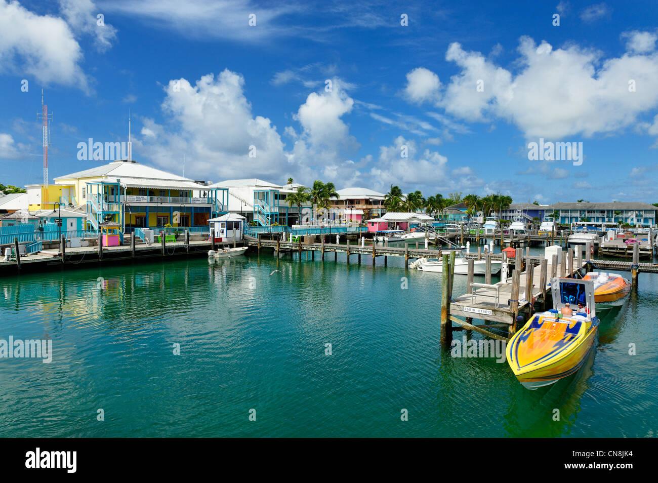 Bahamas Grand Bahama Island Freeport Port Lucaya Marina