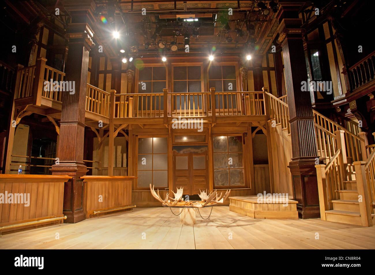 Folger Shakespeare theatre in Washington DC - Stock Image