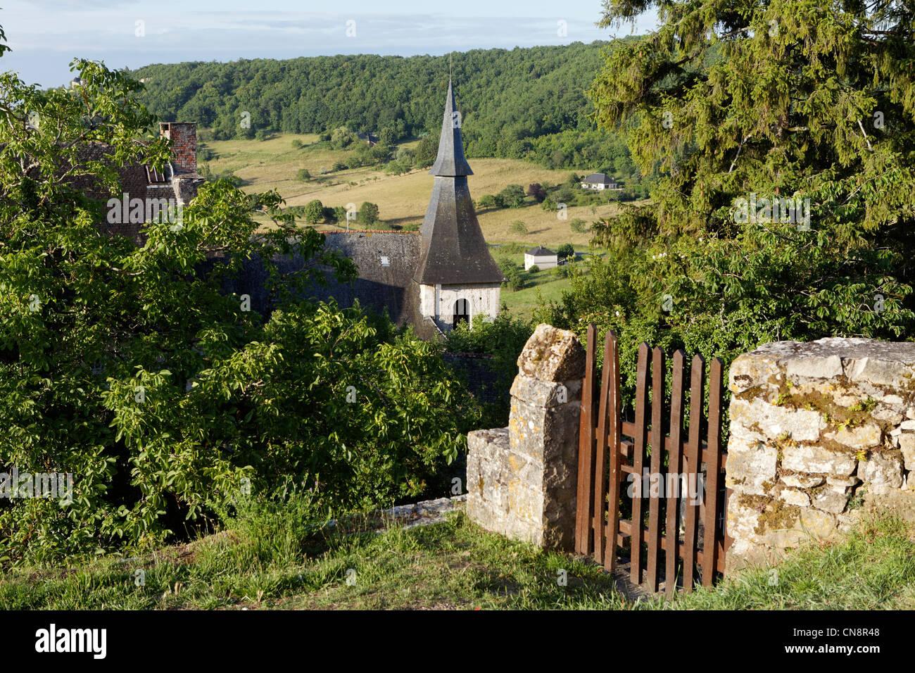 France, Correze, Turenne, labelled Les Plus Beaux Villages de France (The Most Beautiful Villages of France), the - Stock Image