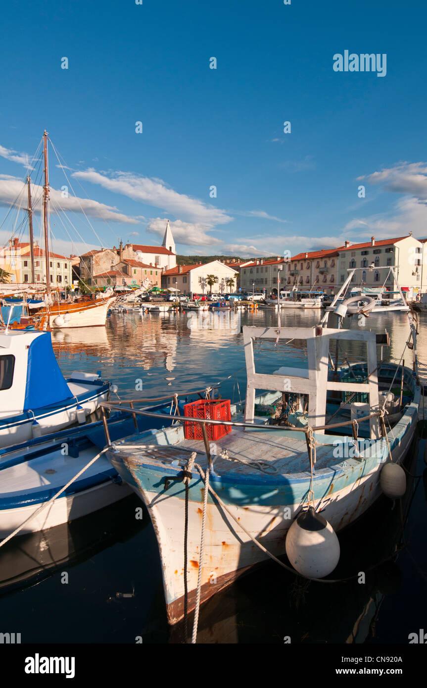 Slovenia, Adriatic coast, Primorska Region, the Izola seaside resort - Stock Image
