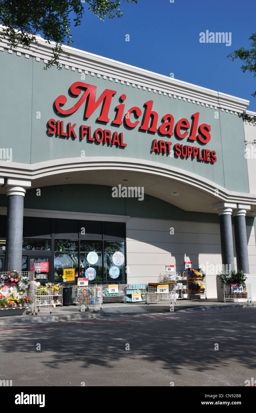 Michaels Craft Store Frisco Texas Usa Stock Photo 47527964 Alamy