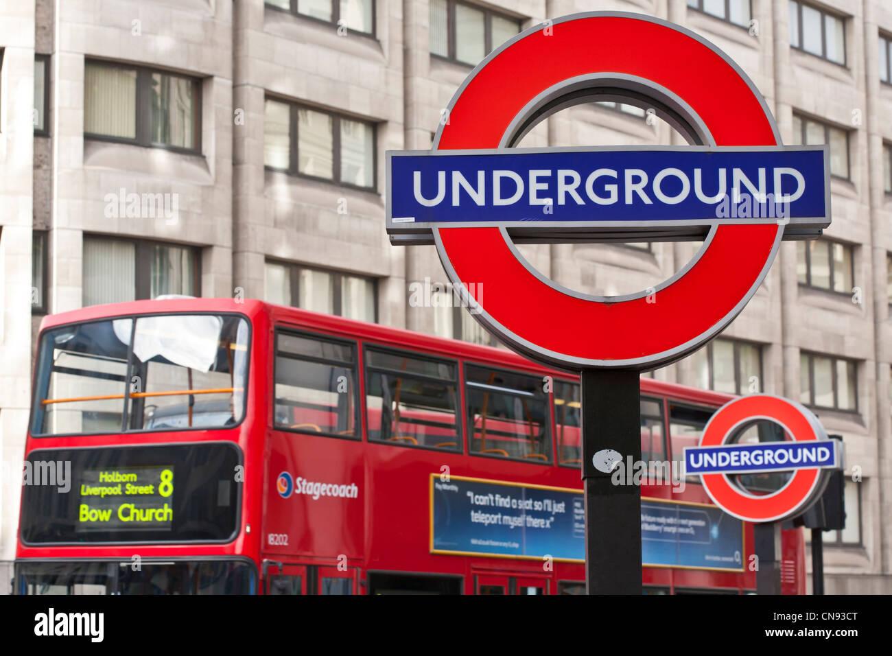 United Kingdom London City St Pauls Station Symbol Of The