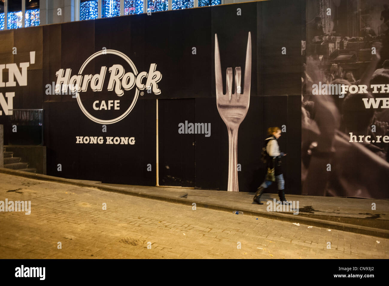 Hard Rock Cafe In Central Hong Kong