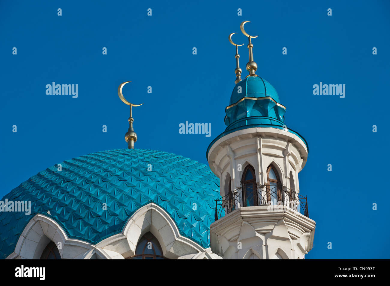 Mosque of Kul-Sharif - Stock Image