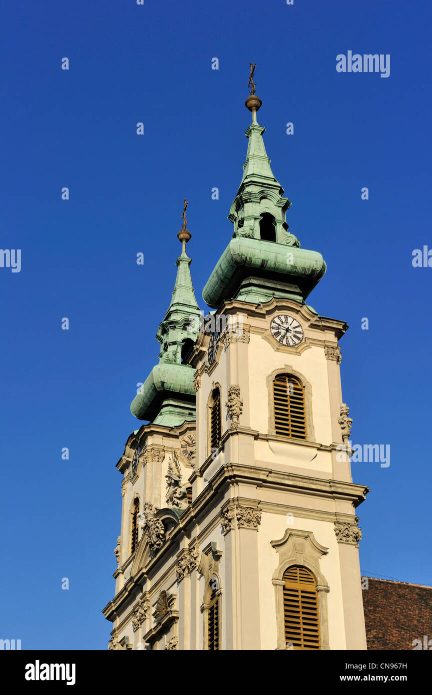 Hungary, Budapest, church in Buda district - Stock Image