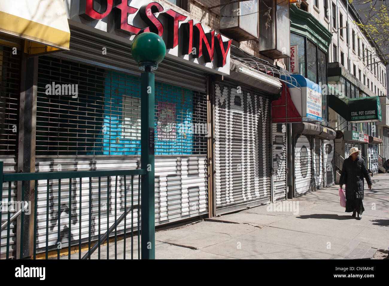Bridge Street Stores >> Closed Stores On Bridge Street In Downtown Brooklyn In New