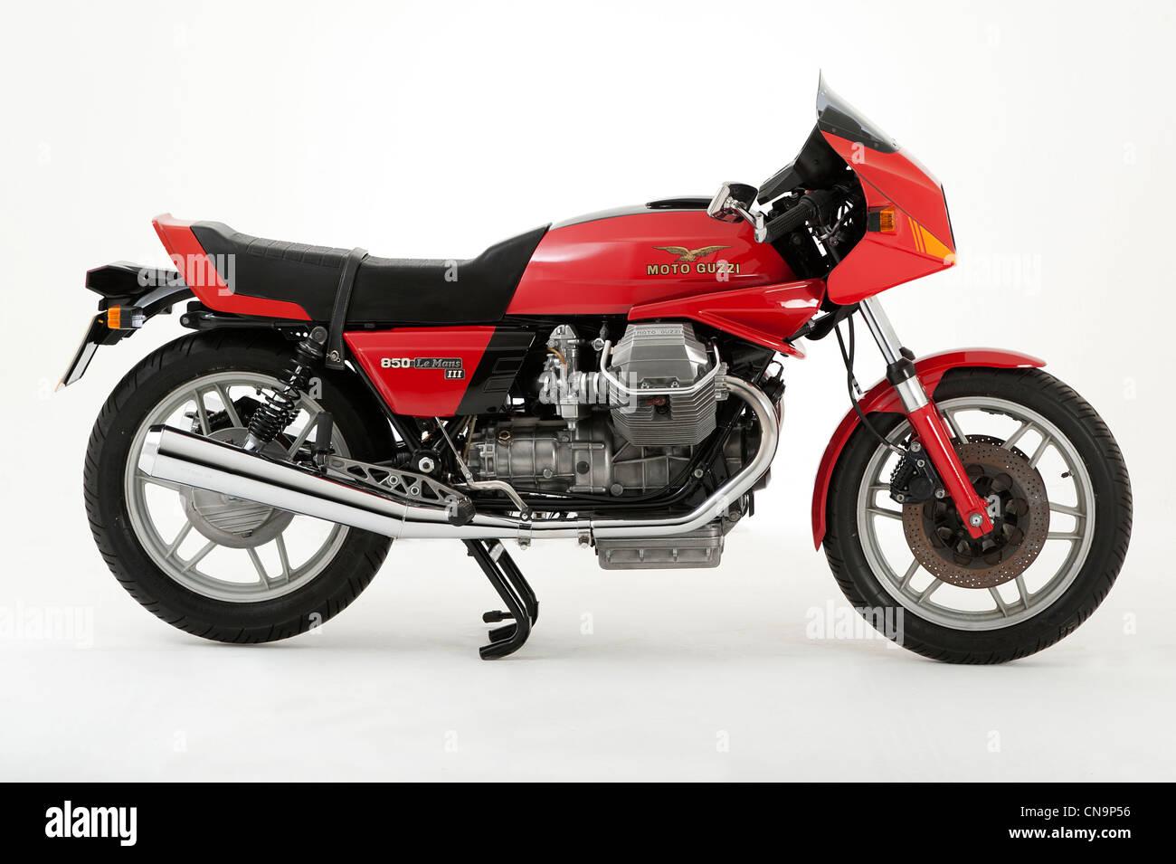 1984 Moto Guzzi 850 Le Mans motorcycle - Stock Image
