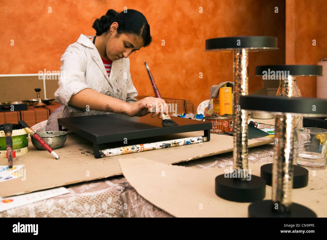 Tunisia, Carthage, studio ceramics and handicrafts - Stock Image