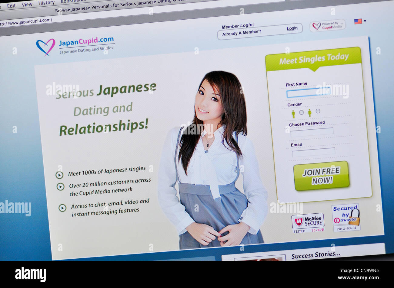 Online dating for japanese