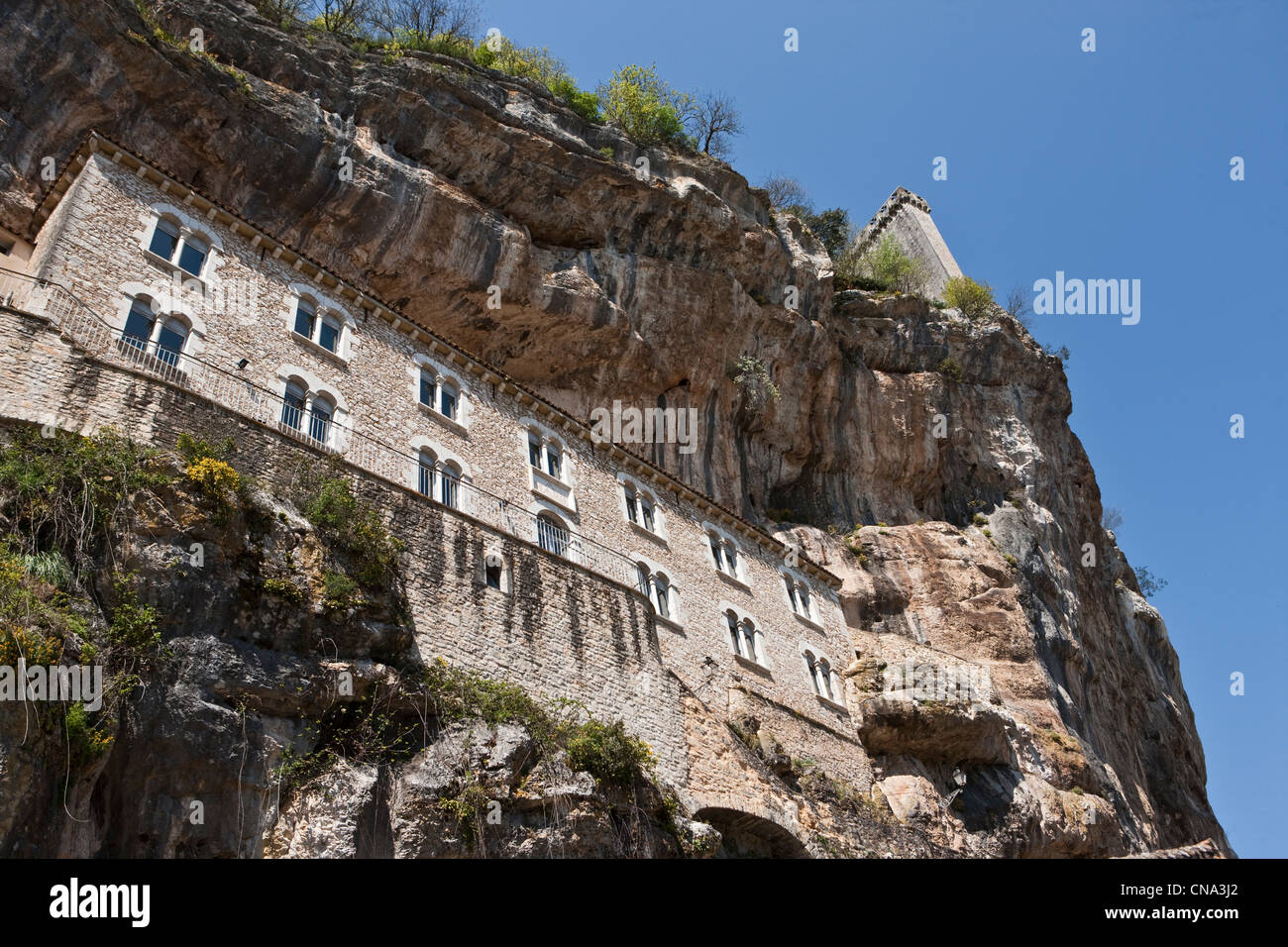 France, Lot, Rocamadour, the former Hospitality - Stock Image