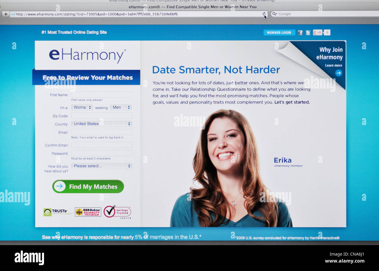 eharmony dating site login Some eharmony users have reported that there are scammers on the site trying to take financial advantage of single men and women it seems all dating sites — not just eharmony — are unfortunately struggling with this problem lately, so it's something to be aware of going in.