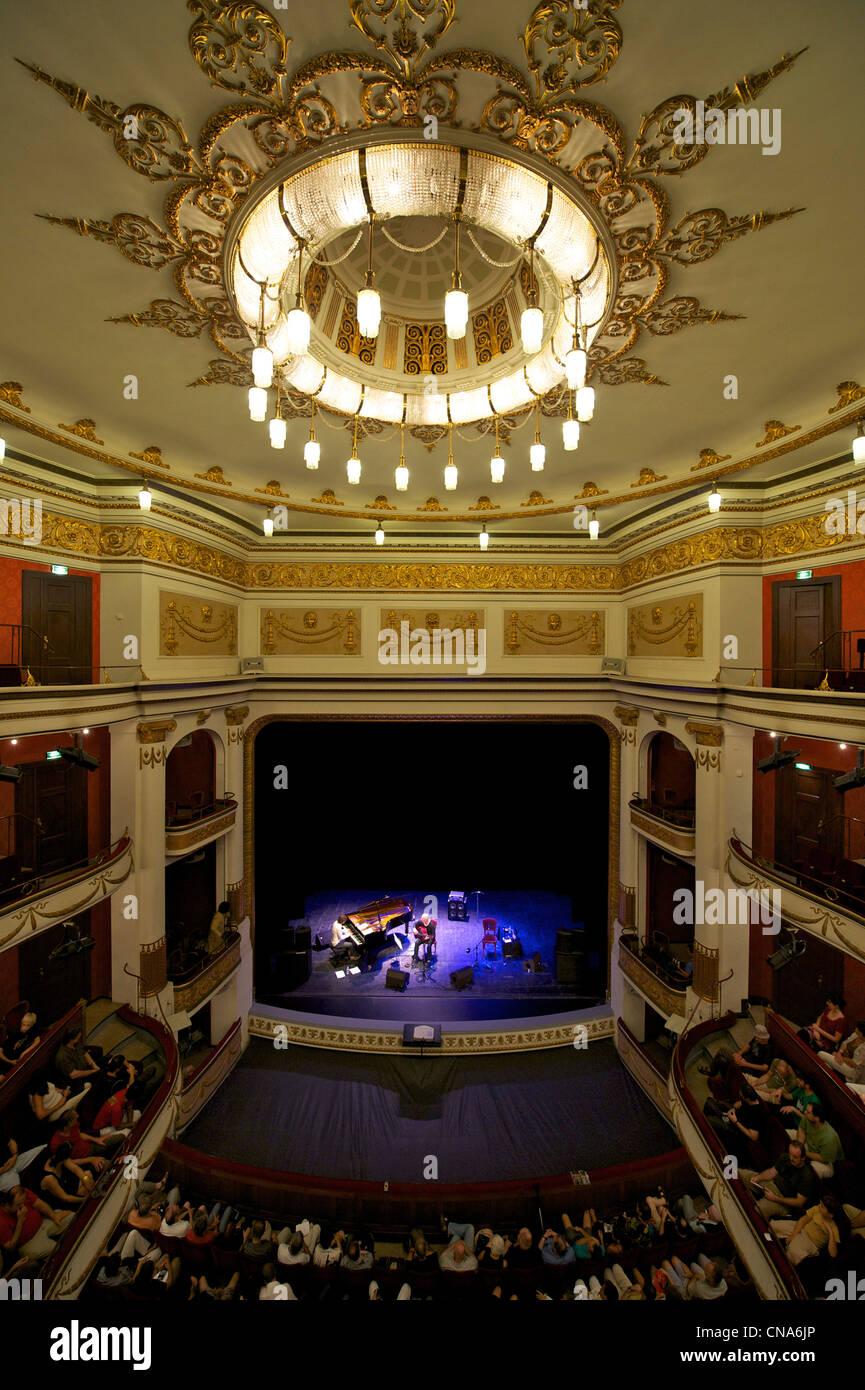France, Haut Rhin, Mulhouse, Theatre de la Sinne, concert of Stock