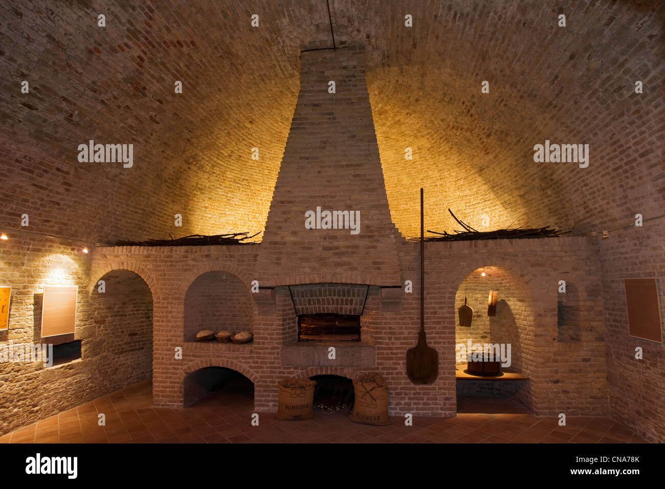 France Nord Gravelines Arsenal Chateau The Bread Oven In An