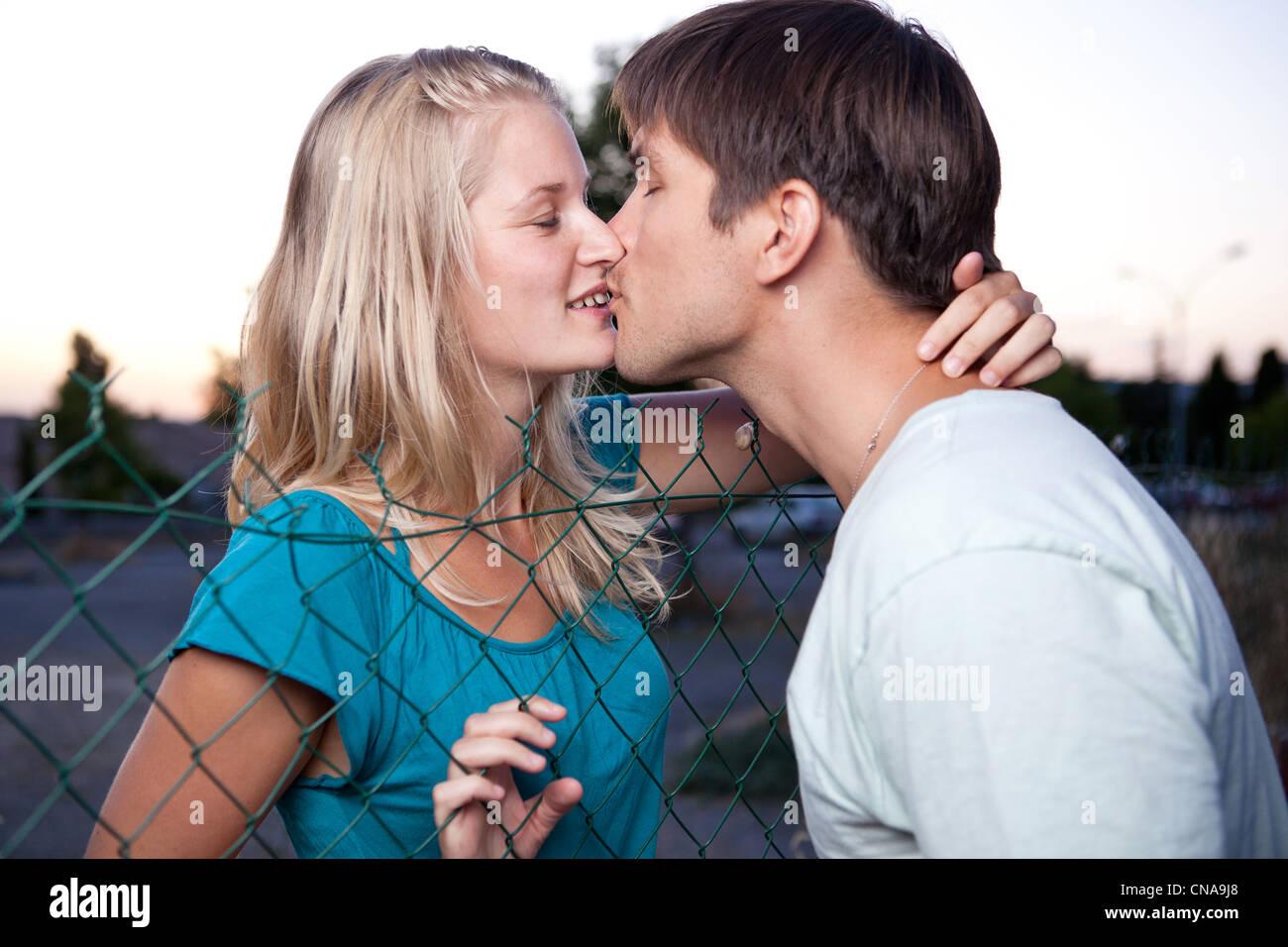 Lovely kissing pics