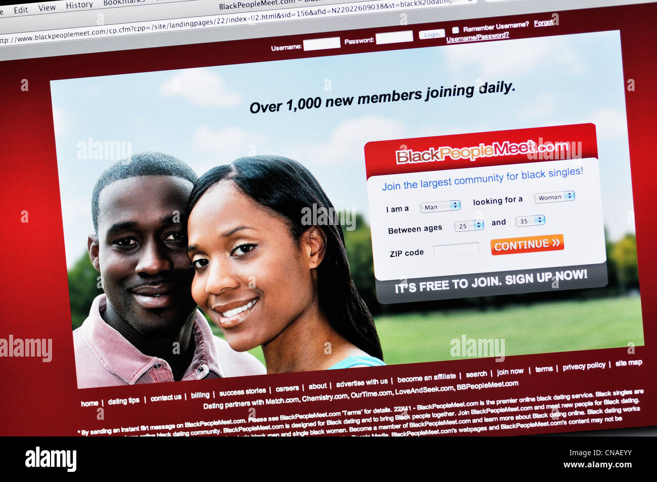 black people dating website