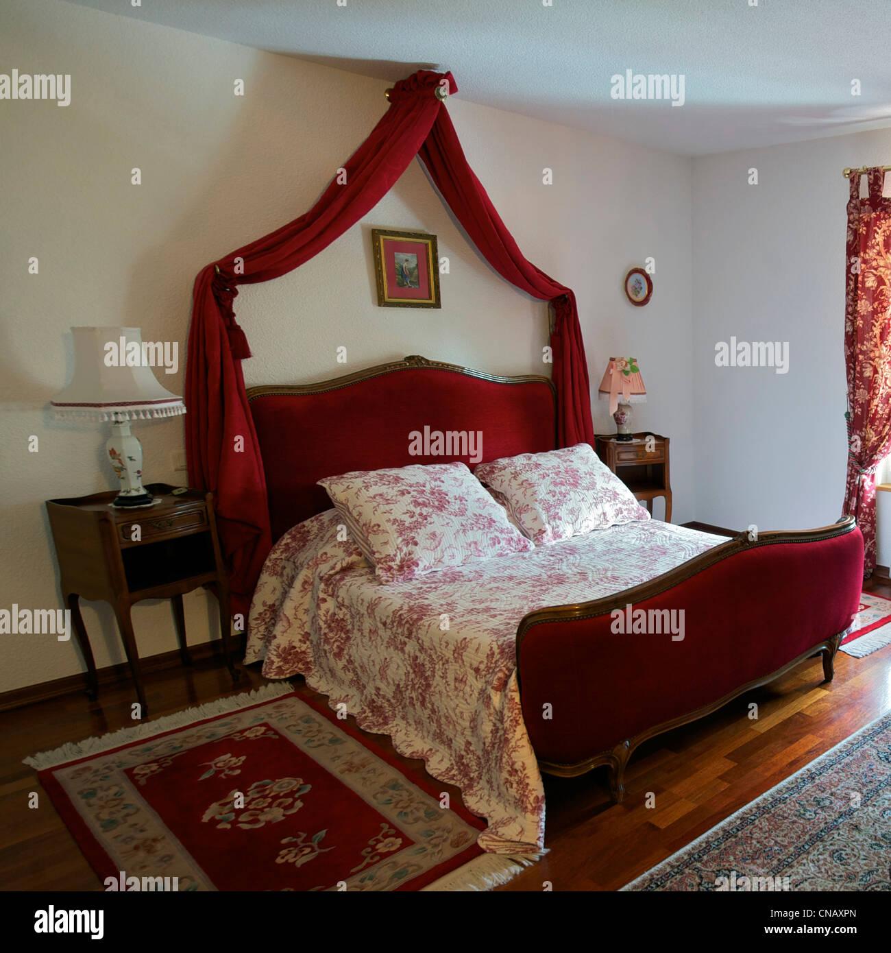 France, Haut Rhin, Rixheim La Grange a Elise, bed and breakfast - Stock Image