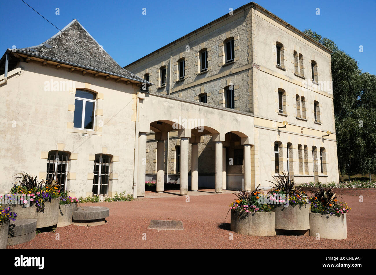 France, Nord, Maubeuge, building of the arsenal built between 1678 and 1689 according to the plans of Vauban and - Stock Image