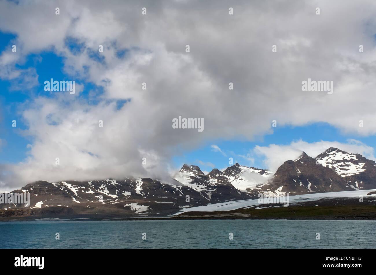 South Georgia West Coast, Sub Antarctic Region - Stock Image
