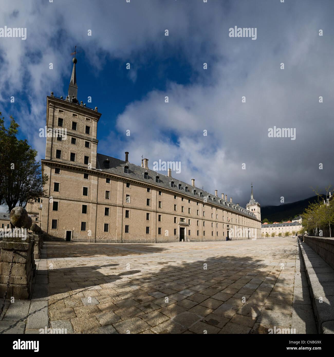 The Royal Seat of San Lorenzo de El Escorial - Stock Image