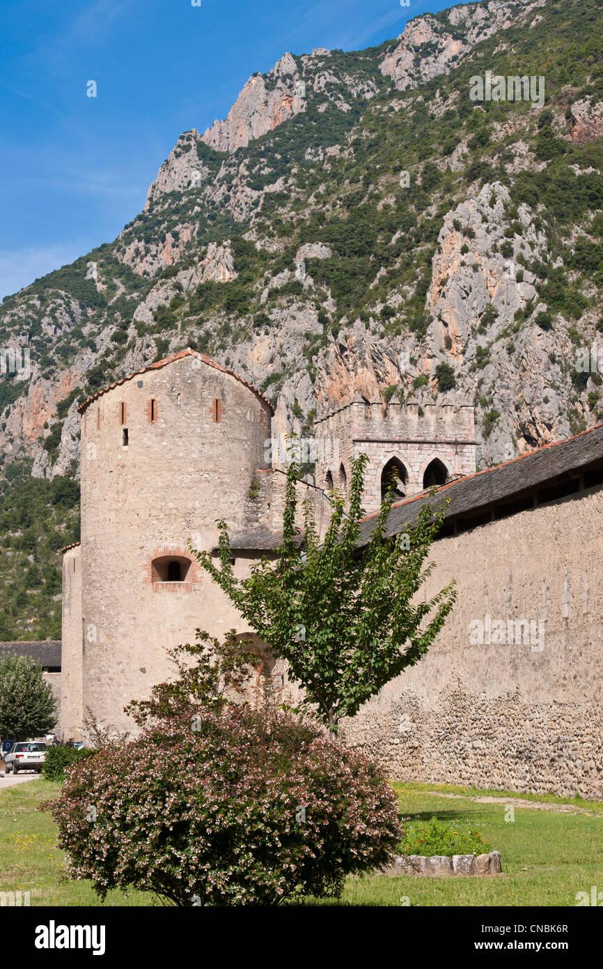 Villefranche De Lauragais: Villefranche De Conflent Pyrenees Orientales Stock Photos