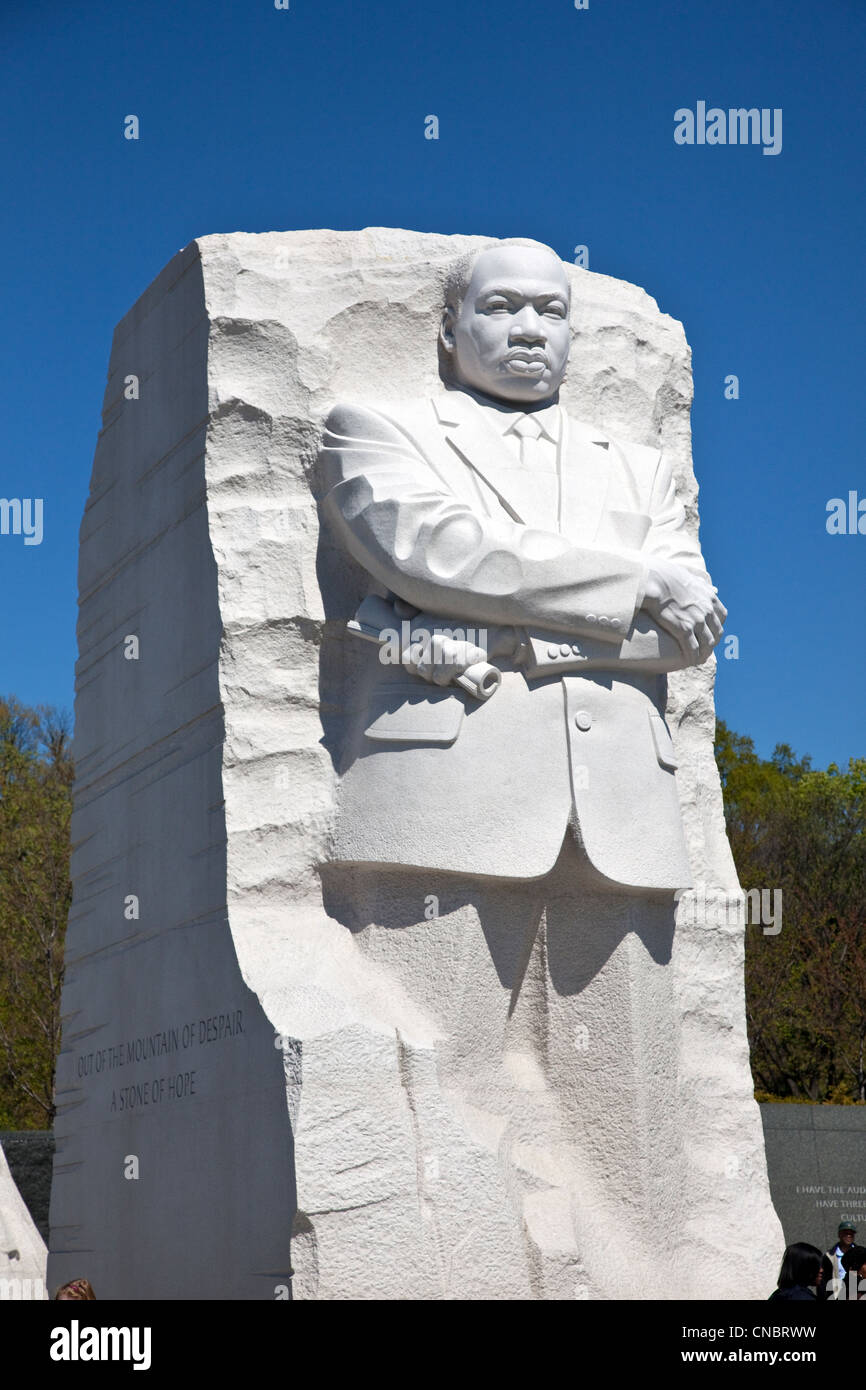 Martin Luther King Jr Memorial In Washington D C On The The Stock