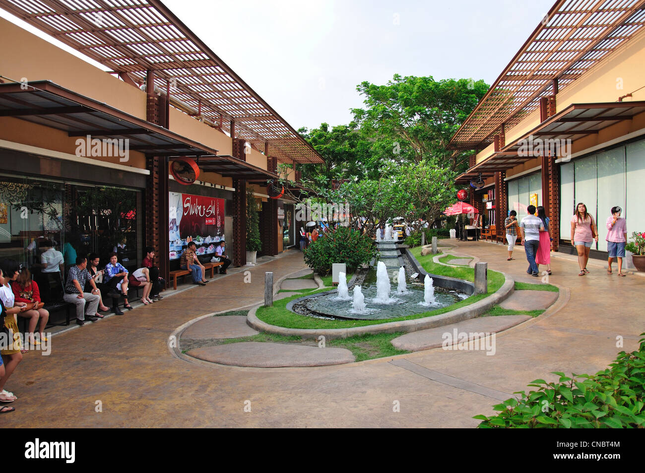 Image result for Pictures of open air shopping precincts