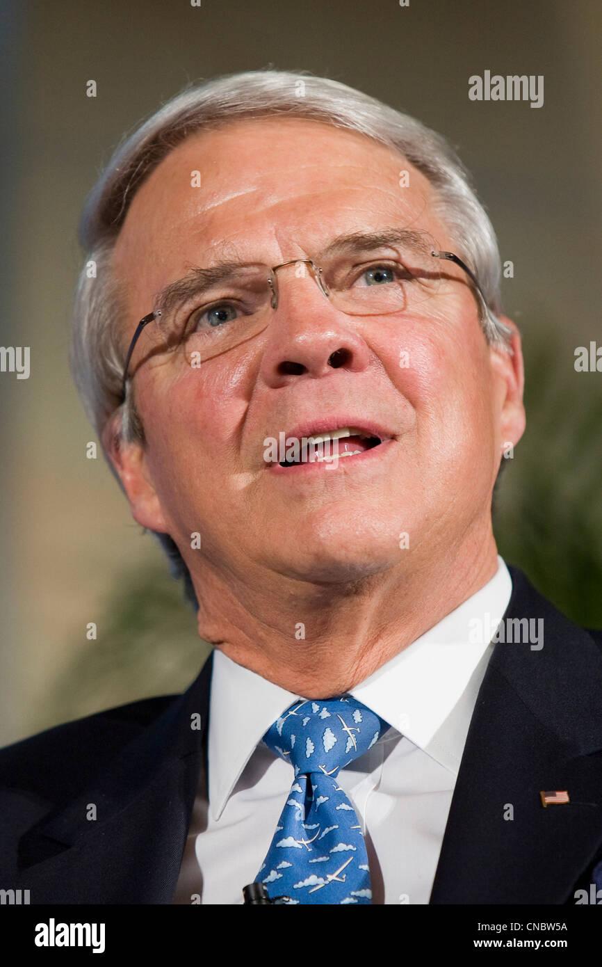 Allan McArtor, Chairman of Airbus Americas. - Stock Image