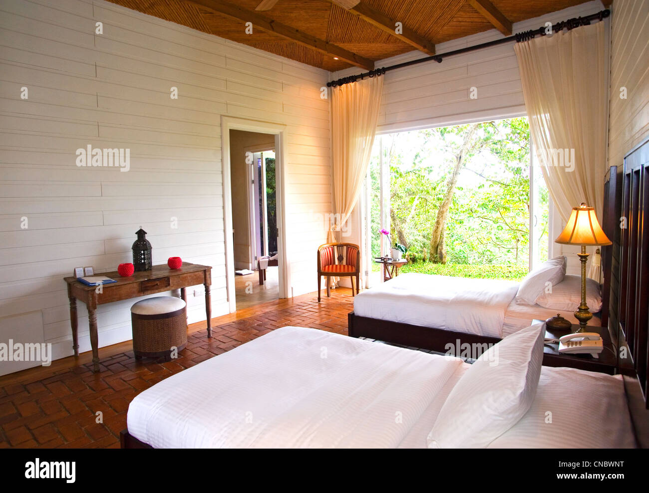 A room at asclepios in costa rica - Stock Image