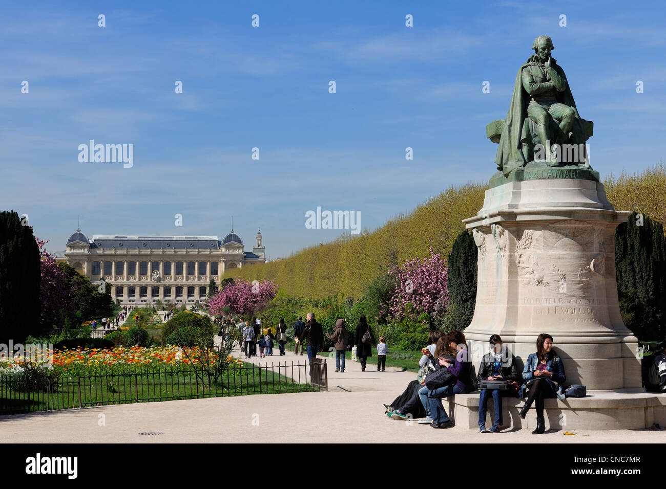 France, Paris, Museum of Natural History, the Plants Gardens and the Grand Gallery of the Evolution - Stock Image