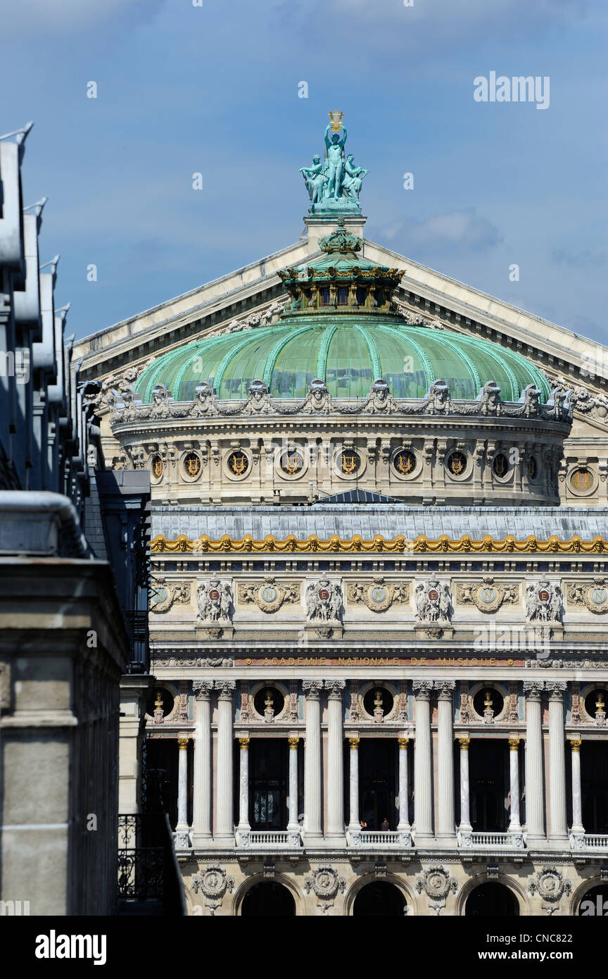France, Paris, the opera Garnier - Stock Image
