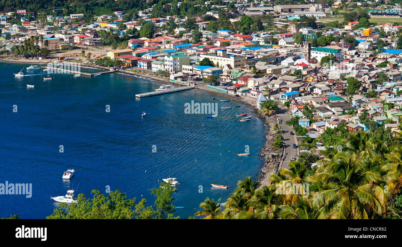 St. Lucia, Soufriere - Stock Image