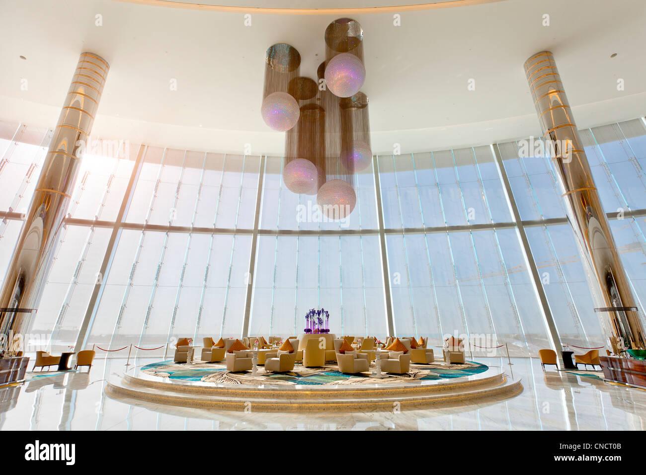 Abu Dhabi, Jumeirah Etihad Towers - Stock Image